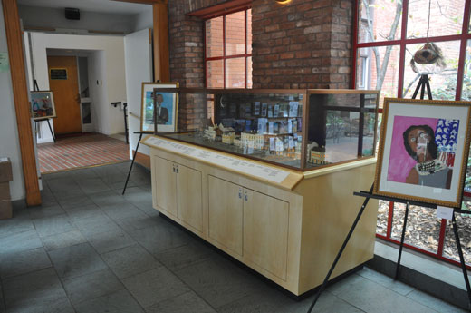 Albany Heritage Center - Model Cases