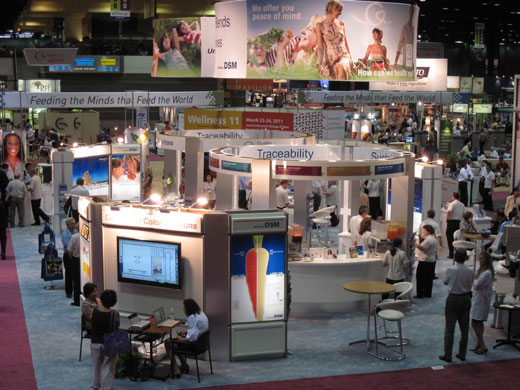 DSM Nutritional Products' IFT 2010 Exhibit