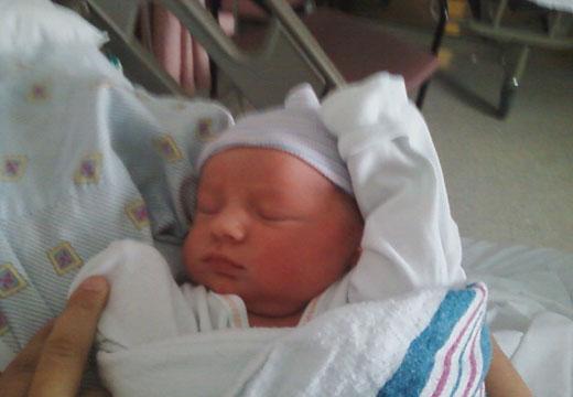 JP's new baby boy Joseph