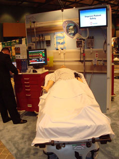 Laerdal's Custom Exhibit Rental for IMSH by Creatacor