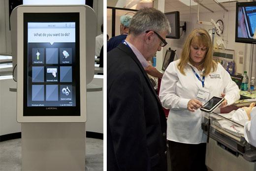 Laerdal Medical IMSH 2012 SimPad demo