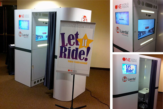 Laerdal Medical's Annual Sales and Marketing Meeting - Video Kiosks