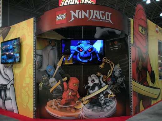LEGO NINJAGO Toy Fair 2011