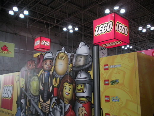 LEGO Toy Fair 2011