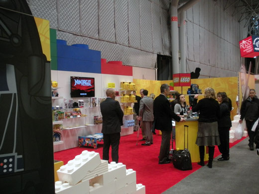 LEGO Licensing Toy Fair 2011