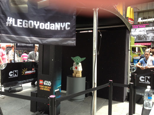 LEGO Uses The Force In Times Square