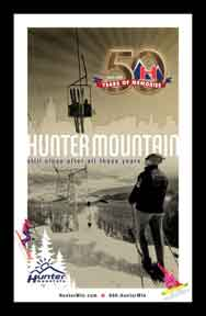 Creatacor Nori Award Nomination 2009 - Hunter Mountain Metro Poster