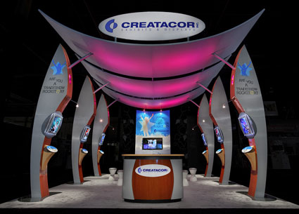2010 Nori Award Nomination - Creatacor Exhibitor Exhibit