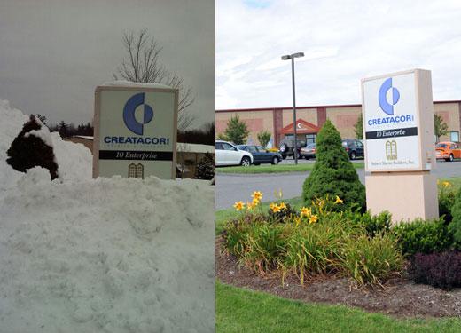Snowmadeddon / Snowpocalypse at Creatacor