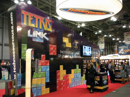 Techno Source Tetris Link Toy Fair 2011