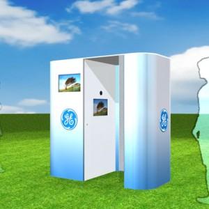 GE Healthymagination Video Booth Kiosks @ Marine Corps Marathon