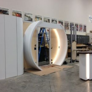 The Evolution of a Mainfreight Trade Show Booth