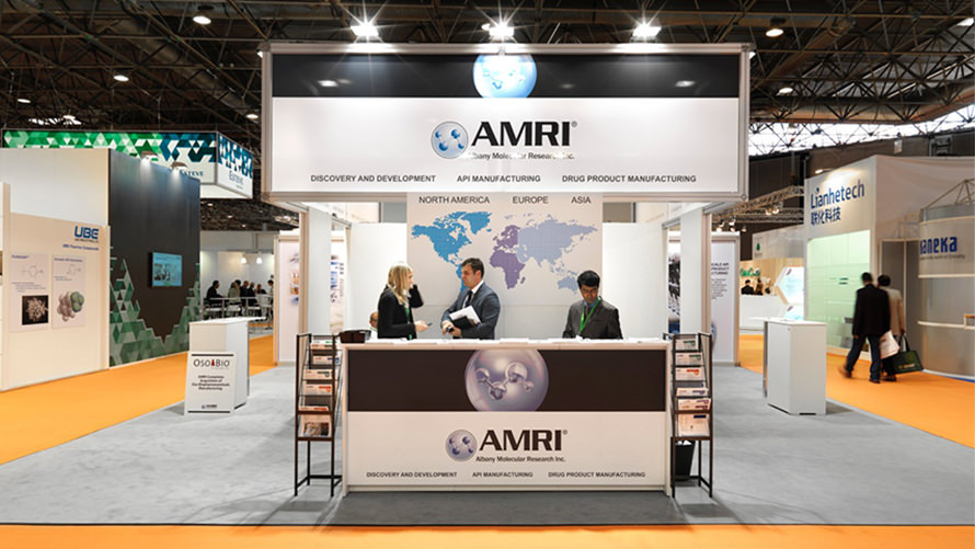AMRI - CPHi custom trade show program