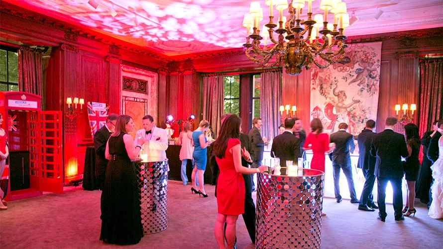 Virgin Atlantic Cocktail Classic Gala custom event program