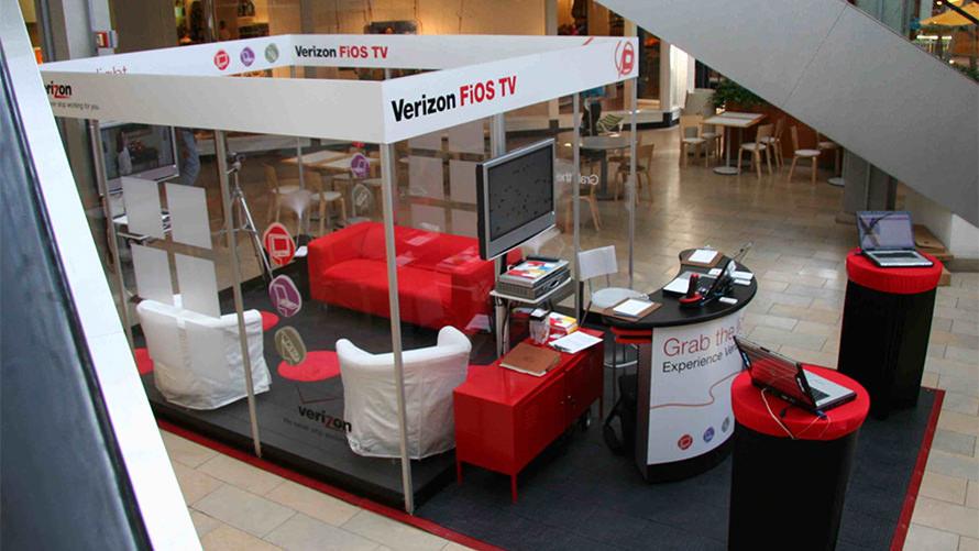 Verizon FIOS – Retail Mall