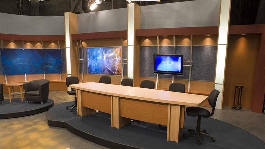 WMHT-TV set design and fabrication