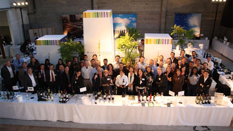 Wines of Chile Tastings Tour custom event program