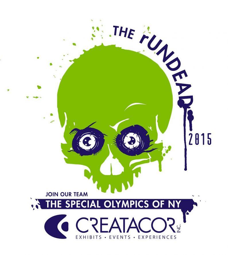 Creatacor participates in the Special Olympics Of NY's rUNDEAD 2015 5k run!