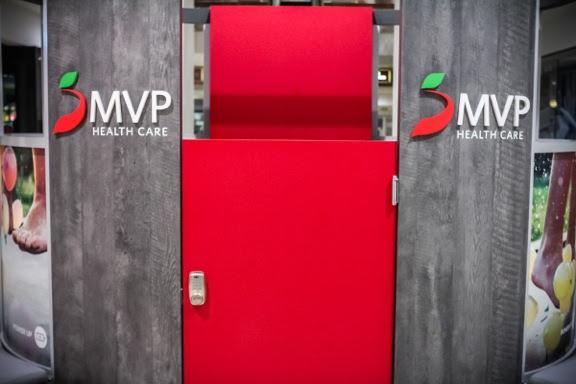 MVP kiosk in Colonie Center