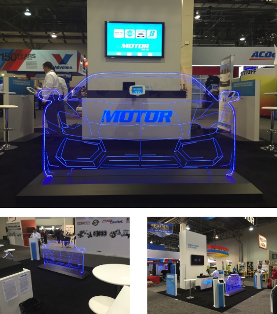 Motor Information Systems Debuts New Exhibit at AAPEX Show