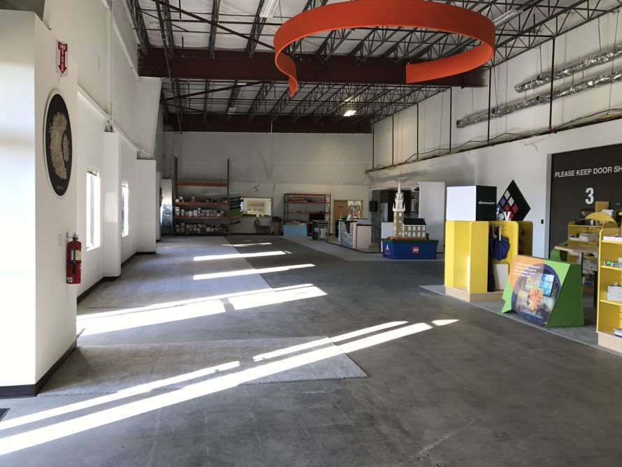 Creatacor exhibit area