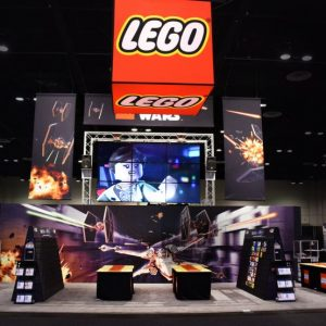 LEGO At Star Wars Celebration 2017