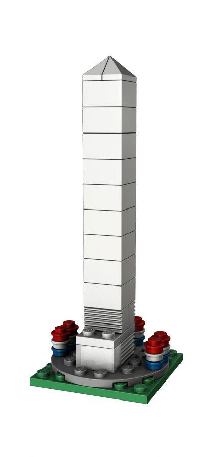 LEGO Washington Monument Make & Take