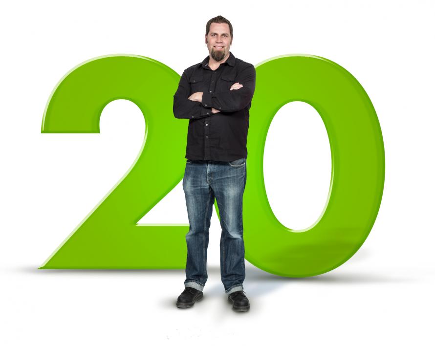 Milestones - Wayne's 20th Anniversary