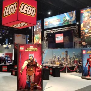 Everything Is Ninja Awesome In The LEGO Booth At Comic-Con!