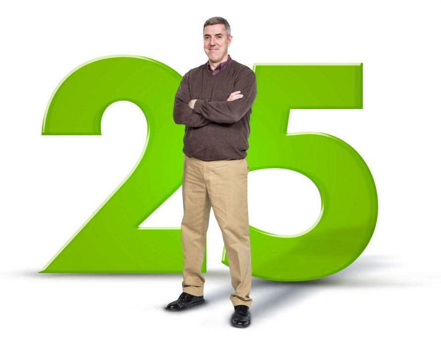 Gerry - 25 Years of service to Creatacor