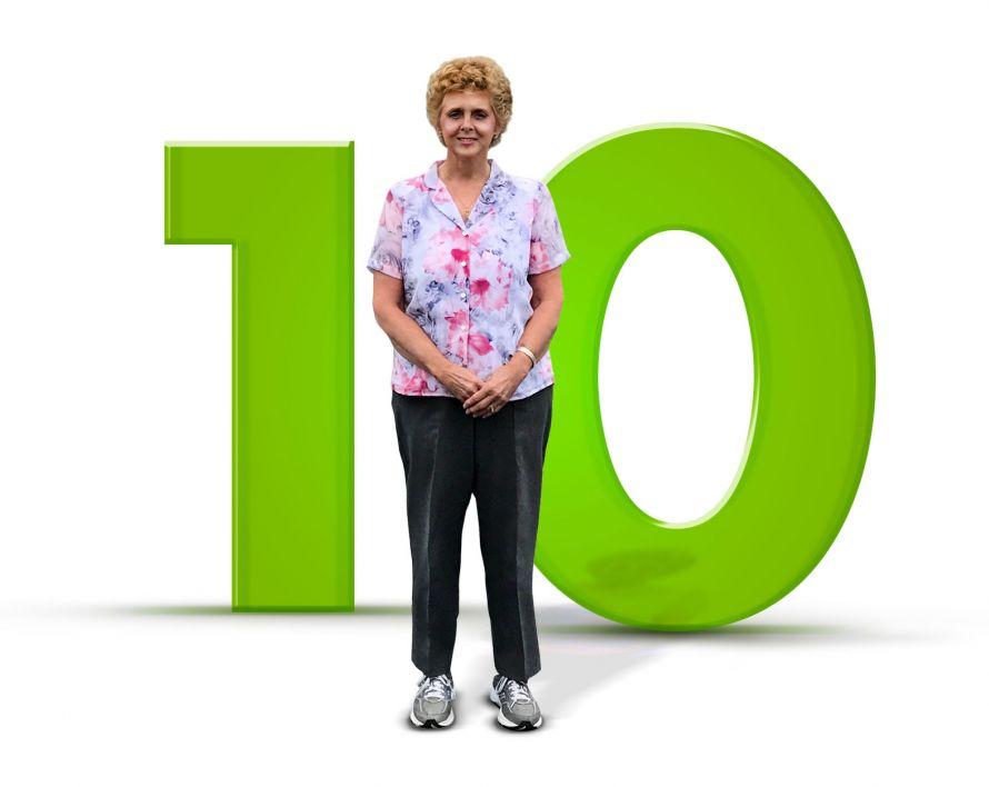 Milestones: Eileen Williams - 10th Anniversary