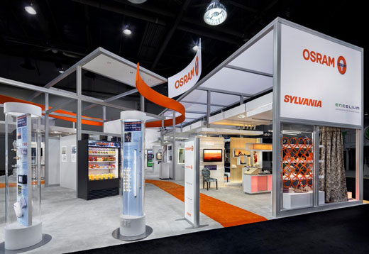 Creatacor ADDY nomination - Trade Show Exhibits and Creative Services for LightFair 2012 - OSRAM SYLVANIA