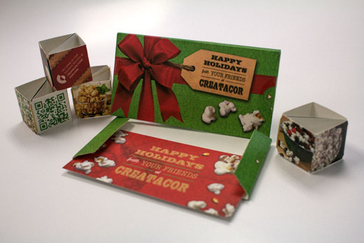 Creatacor ADDY nomination - Industry Suppliers for Cards, Invitations or Announcements for our Holiday Card mailer