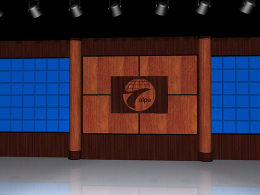 ALPA stage set rendering
