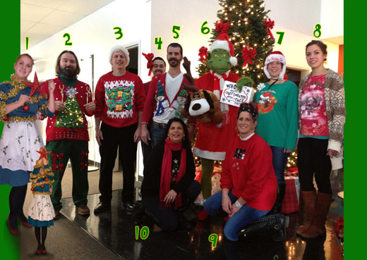 Creatacor's 2nd Annual Ugly Holiday Attire Contest