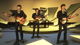 The Beatles: Rock Band Game Screen Shot