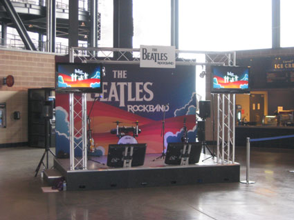 The Beatles: Rock Band Stage Set by Creatacor