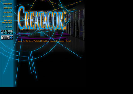 www.creatacor.com from 1999