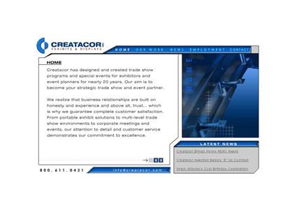 www.creatacor.com from 2005