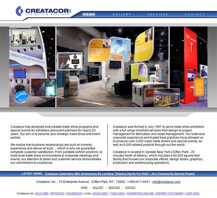 www.creatacor.com from 2008