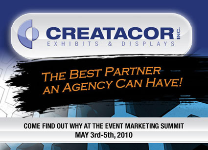 Creatacor Exhibiting at The Event Marketing Summit