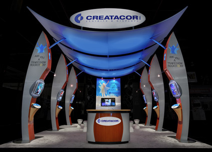 Creatacor's 2009 Exhbitor Show Custom Exhibit
