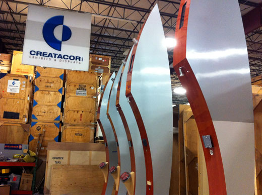 Creatacor getting ready for EXHIBITOR2011