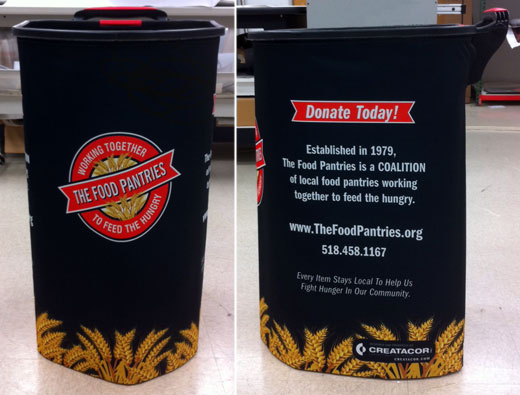 The Food Pantries Collection Bin