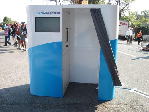 GE Healthymagination Video Kiosks