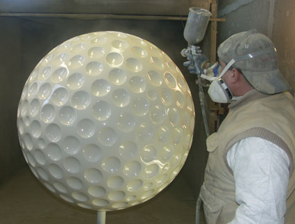 "44"" Golf Ball - Mobile Marketing Event Set"