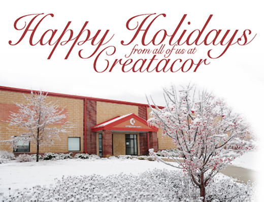 Happy Holidays From Creatacor - 2010