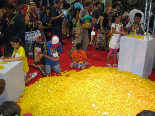 LEGO at Comic-Con 2011