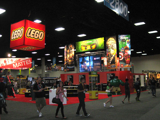 LEGO at Comic-Con 2012