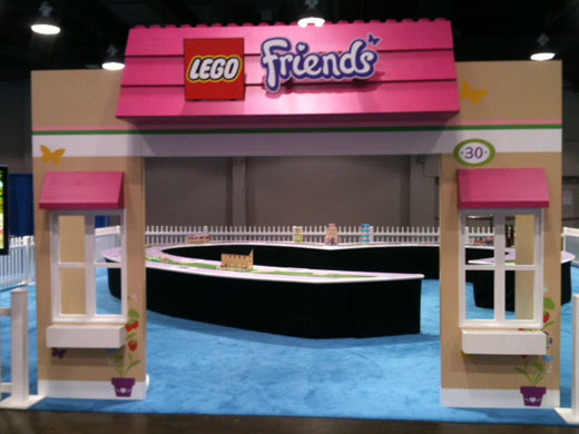 LEGO KidsFest Ohio - Friends exhibit